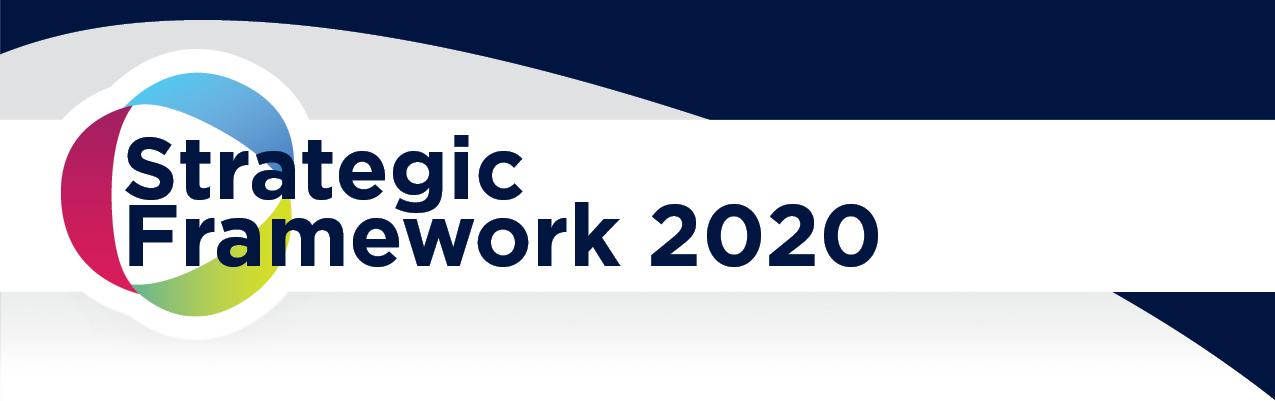 Strategic Framework 2020 header image